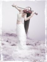 lonely violin II by OpheliacIInMe