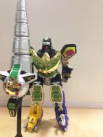 MMPR - Legacy Dragonzord in battle mode! by ryanthescooterguy