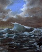 Stormy Sea by Boias