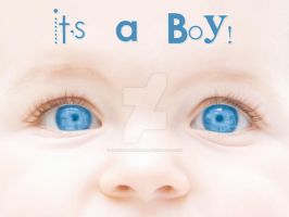 It's A Boy by karemelancholia