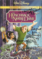 Autographed HoND dvd cover by ChristineFrollophile