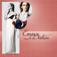 Emma Watson PNG Pack (4 PNG) by ZhrSmile