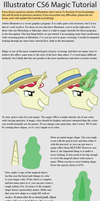 Illustrator Pony Magic Tutorial by SirCxyrtyx