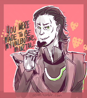 Happy Valentines, Mortal Scum by Oelm
