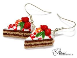 "Earrings ""Sweet"" by OrionaJewelry"