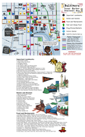 BronyCon Map of Baltimore Inner Harbor Downtown by SouthParkTaoist