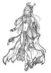 Drow Princess Process by StriderDen