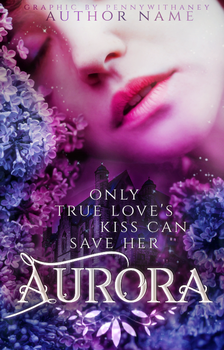 Aurora - wattpad cover - available by Pennywithaney