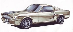 ford mustang by 1Irish1