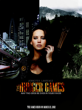 Hunger Games movie poster 2.0 by AliceCullen88