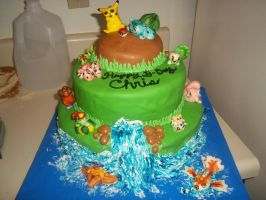 POKEMON CAKE by marandaschmidt