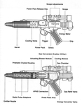 DH17 Blaster Pistol by NIMArchitect