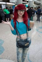 Hipster Ariel at AX 2011 by TheRealLittleMermaid