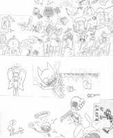 Doodles by GirBaloney