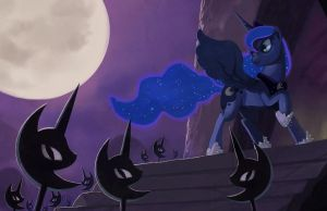 Princess of the night by envidia14