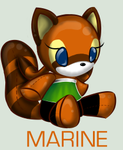 SonicPlushieCollection: Marine by WingedHippocampus