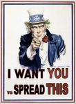 It's spreading Uncle Sam by AndrAKondrA