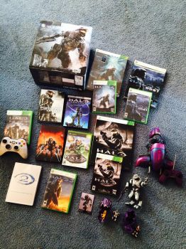 My little Halo collection by Duchess-of-Dismal