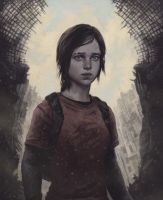 THE LAST OF US fan art by Yuri Shwedoff by shwedoff