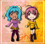 Day 28 .: Ming-ming and Mathilda :. by darkangel-hikari