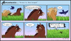 Horsetastic - Grass Challenge by DolphyDolphiana