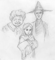 Granny, Nanny, and Tiffany by infiniteviking