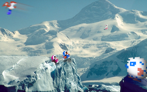 "RetroMountain ""Ice Climbers"" by RETROnoob"