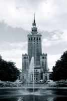 Palace of Culture and Science by spyed