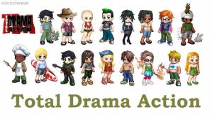 Total Drama Action Crew by cococheese