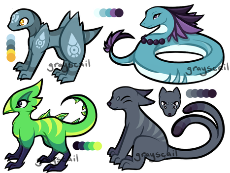 Mixed Adopt Sheet (CLOSED) by grayscail