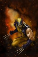 Wolverine cover sample by galindoart