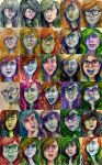 30 Day Self-portrait Challenge by LollypopWolf