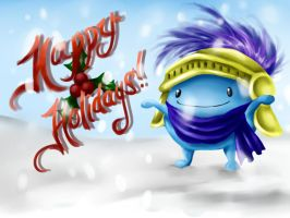 Happy Holidays from Blueknight by BlueyyKnight