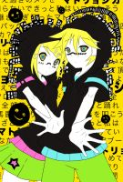 Matryoshka: Rin and Len by Red-Ruby-Butterfly