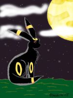 Umbreon by shewolfpup2000