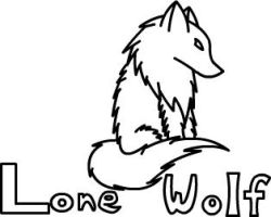 Lone Wolf by WatercatdragonMiu