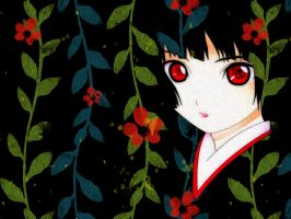Jigoku Shoujo Wallpaper by YuuAbyss