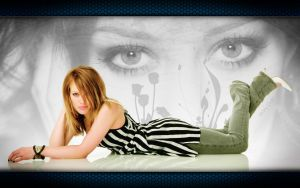 WP - Hilary Duff: Reflections by TebgDoran