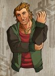 Present Day Varric Tethras by ReaperClamp