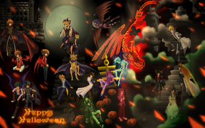 YGO 5DXAL Halloween A by d53865