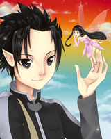 SAO: Daughter fairy by nuxi-chan