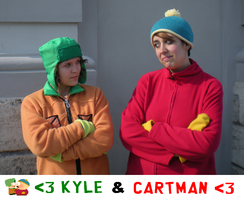 Cartman and Kyle -100th photo by Eric--Cartman