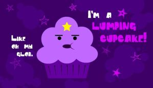Lumpy Space Cupcake by NekoHana3