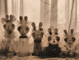 BunnyHunnys  antiqued by SoDarkSoCute