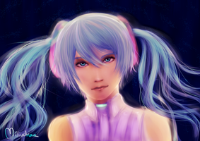 Miku Append by Ludozerkaa