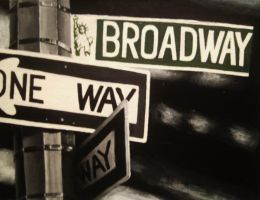 One Way to Broadway by TheRenegadeArtist