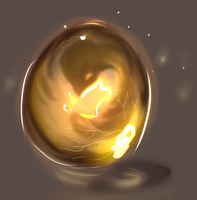 Dragon Egg by MellieMel