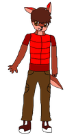 Anikaria Revived Ref: Cody the Kangaroo by Wolf-Prince-Leon