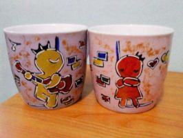Couple Cup by imyongyong