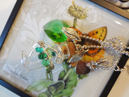 Bottle Beauty Necklace - Fern by WaterGleam